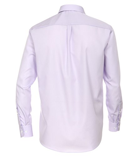 Michaelax-Fashion-Trade CASA Moda - Comfort Fit - Bügelfreies Herren Business Langarm Hemd Verschiedene Farben (006050) Flieder (901)