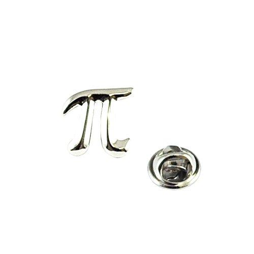 Maths Pi Symbol Lapel Pin Badge