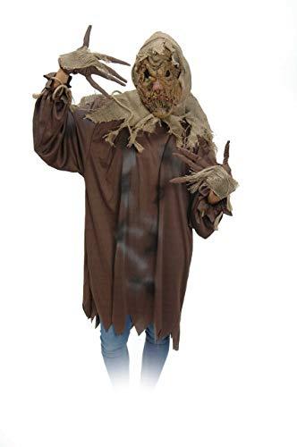 MKS Faschingsköstüm Scarecrowkostüm -schaurig, gruselig und erschreckend - in verschiedenen Größen und Motiven (Scarecrow, S/M)