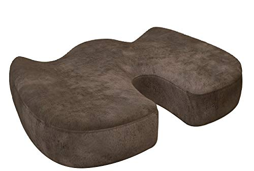 AOOK ortopédica de espuma de memoria asiento cojín silla Pad para alivio de dolor de espalda...