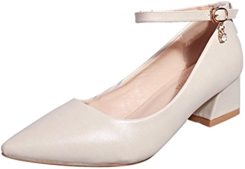 f838f7e0882826 en gras, avec une une une extrémité pointue pour les quatre saisons de  faible aide chaussures chaussures simple femme chaussures, beige 41  b07f2h1ckb parent ...