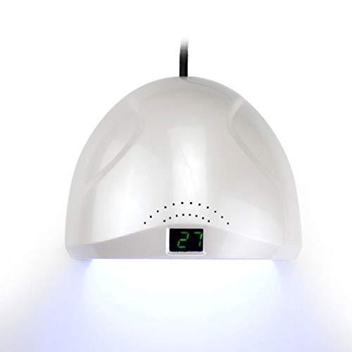 Nageltrockner,Lampe für Gelnägel,Lichthärtegerät, UV-Nagellampe, 48W LED-Nageltrockner-Licht zur Nagelhärtung für Gelpolituren mit 6 Timer-Schnell-Doppelhärtung, herausnehmbarer Bodenschale -