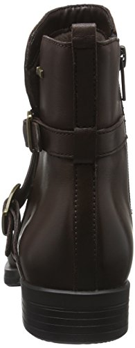 Clarks Cheshuntbe, Bottes Motardes Femme Marron (Dark Brown)