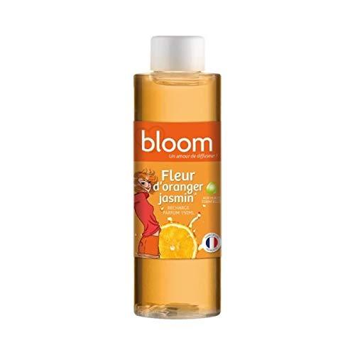 Devineau 1611325 Recharge Coloré pour Diffuseur de Parfum à Froid Fleur d'Oranger ylang150 ml