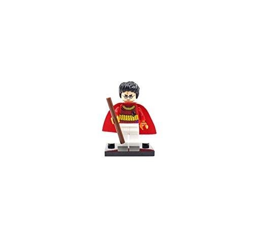 Harry Potter con varita inspirado en LEGO