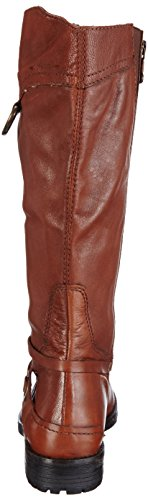 Marc Shoes Massa, Bottes à tige haute et doublure intérieure femme Marron - Braun (brandy 350)