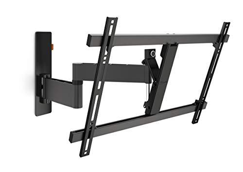 VOGEL'S WALL 3345 - TV Wandhalterung für 40-65 Zoll Fernseher, Wandhalter, Schwenkbar & Neigbar bis 180°, Fernsehalterung für die Wand, VESA 600 x 400, Universelle Kompatibilität, Smart TV Halterung Diagonal-hdtv