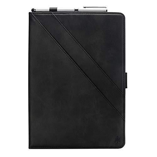 Samsung Galaxy Tab S3 9.7 T820 T825 Hülle, Prämie PU Leder Brieftasche Pouch Flip Hülle Hülle Anti-Scratch Defender HülleSeries zum Samsung Galaxy Tab S3 9.7 T820 T825 (Black)