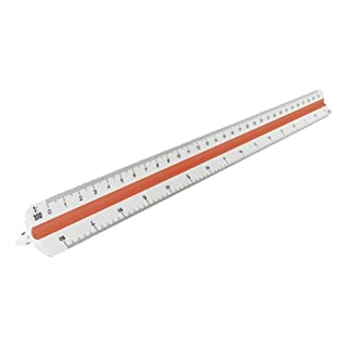 Aristo GEOCollege Triangular Three-Edged Scale 30 cm White Plastic