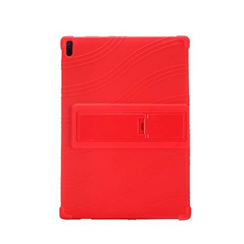 "Yudesun Funda para Lenovo Tab 4 10 Plus - Soporte Silicona Suave Skin Caucho Concha Protectora Cubrir Funda para Lenovo Tab 4 10 Plus B-X304 /Tab 4 10 Plus TB-X704 10.1"" Tablet"
