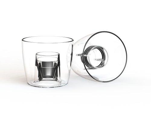 x 100 - Praktisch unzerbrechlich CE gestempelt Bombe Schnapsgläser, jager bomb Gläser, bomb shot cups (Jager Bomb Cups)