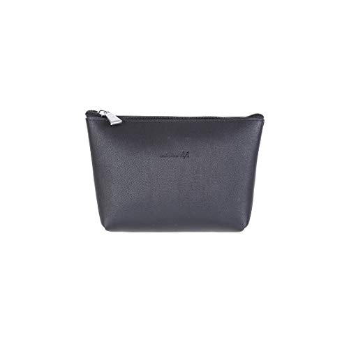 Miniso Trapezoid Cosmetic Bag (Black)