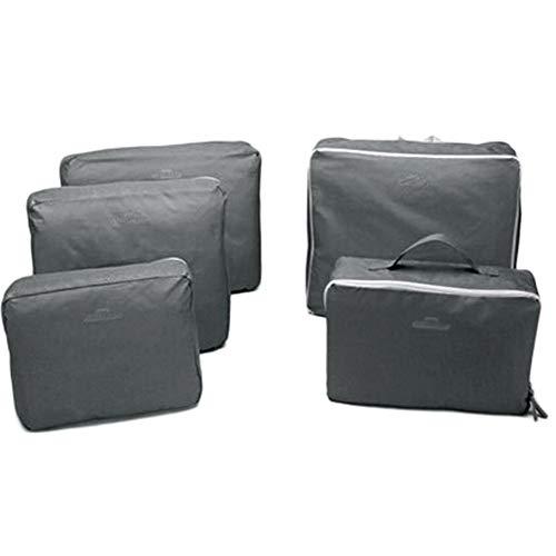 Bobopai 5PCS Waterproof Clothes Storage Bags Packing Cube Travel Luggage Organizer Bag (Grey) Red Digital Cinema Camera
