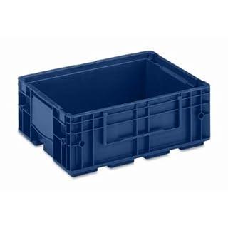 utz Kleinladungsträger R-KLT - Inhalt ca. 10 l, Außen-LxBxH 400 x 300 x 147 mm, VE 8 Stk - Kunststoff-Stapelbehälter Sichtlagerkästen Stapelbehälter aus Kunststoff Stapeltransportkästen Kunststoff-Kästen Stapelkästen Kästen KLT-Behälter Kunststoff-Behälter