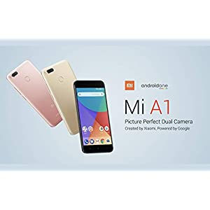 "Xiaomi Mi A1 SIM Doble 4G 32GB Or, Blanco - smartphone (14 cm (5.5""), 1920 x 1080 píxels, 32 GB, 12 MP, Android, Or, Bblanc"