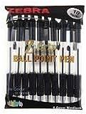 Zebra Z Grip Ballpoint Pen - Black (Pack of 10)