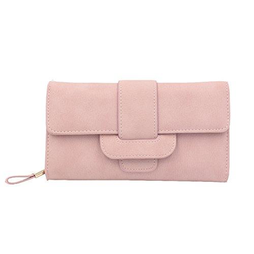 Portefeuille femme rose
