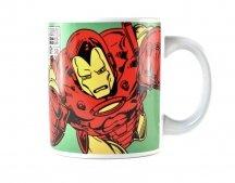 Marvel Comics Iron Man Boxed Mug Shield Logo ceramica Merchandise Ufficiale