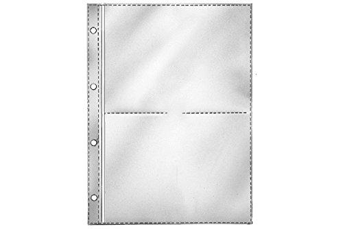 REIF-Fotohüllen 11200, für 2 x 2 Bilder 15 x 20 cm