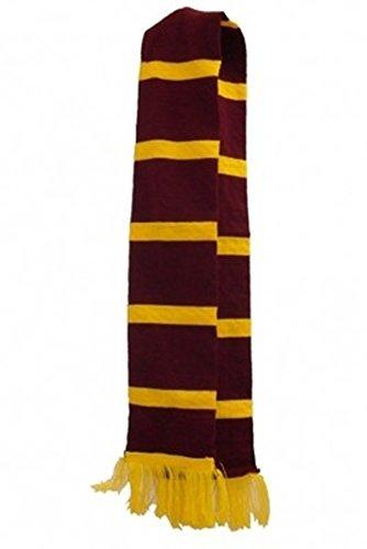 JUNGEN MÄDCHEN ZAUBERER HARRY POTTER KOSTÜM SET KOSTÜM MENGE BRILLEN ZAUBERSTAB - Schal, One (Kostüme Potter Harry Kinder Für)