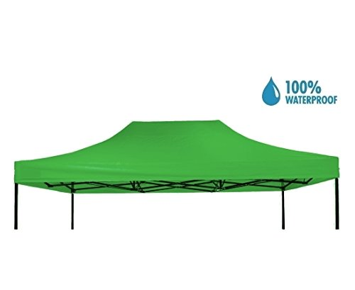 Tetto copertura impermeabile per gazebo 3x4 5m verde catalogo gazebi