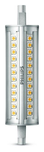 Philips - Bombilla LED lineal R7S, 14 W, equivalente a 100 W, blanco frío, 1600 lúmenes, regulable