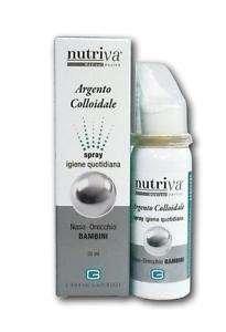Cabassi Nutriva ARGENTO COLLOIDALE Spray Naso Orecchio bambini 30ml