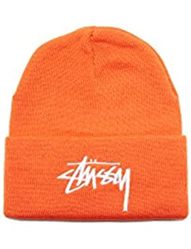 Stussy cappello STOCK CUFF BEANIE ORANGE