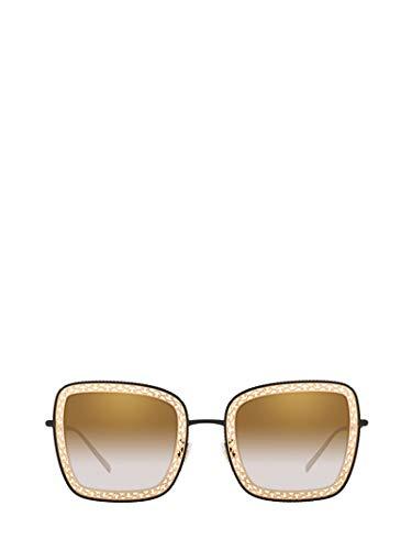 DOLCE E GABBANA Damen Dg222513116e Gold Metall Sonnenbrille