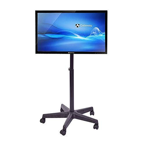 Xue Rolling TV Stand Mobile TV Cart, Für 14-40 Zoll LED LCD Plasma Flat Panels 360 º of Swivel Mit Wheels Mobile Floor Home Office Schlafzimmer Klassenzimmer Videoanruf -