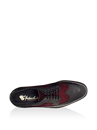Goodwin Smith Pendle Derby Homme Mocassin Burgundy/Black
