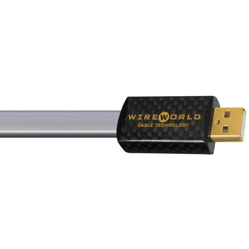 Wireworld Starlight Usb (WIREWORLD PLATINUM STARLIGHT USB 2.0 A-B FLAT CABLE 0.3M)