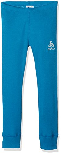 Odlo Kinder Pants Warm Kids Hose, Mykonos Blue, 140
