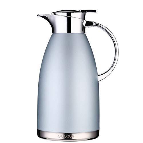 BDBWHB Isolations Topf Kaffeekannen Thermosflasche 1.8L 2.3L Thermoskanne Thermal Warmwasserkrug Krug Edelstahl Doppelschicht Isolierte Vakuumflasche Kaffee Tee Wasserkocher Topf