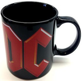 AC/DC-TAZZA IN CERAMICA, TAZZA IH-IDEA REGALO