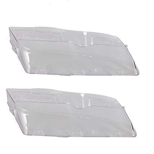 Scheinwerfer Abdeckung Streuscheibe 2 Stücke Hauptscheinwerfer Streuscheibe Rechts und Links