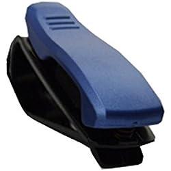 Moede Praktische Sonnenbrillenhalter für Auto mit Viele Farben (Blau)