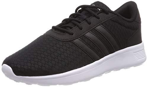 adidas Lite Racer, Damen Laufschuhe, Schwarz (Core Black/Ftwr White), 40 EU (6.5 UK)