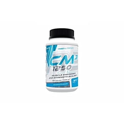 Trec Nutrition -Cm3 1250 -180caps -Creatine Malate for Strength & Increase Muscle Mass!! by Body Creator