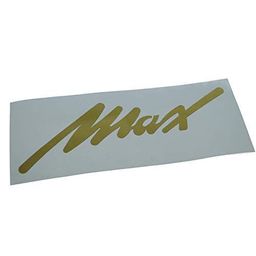 NSU Max Schriftzug, Ersatzteil Sticker oder als Tank Schriftzug Dekor. Zum Oldtimer Restaurieren von Lack und Verkleidung. Alternativ zum Motorrad Emblem