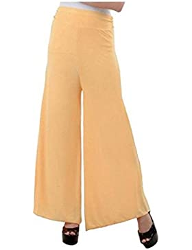 Indian Handicrfats Export Sizzlacious Regular Fit Women's Beige Trousers