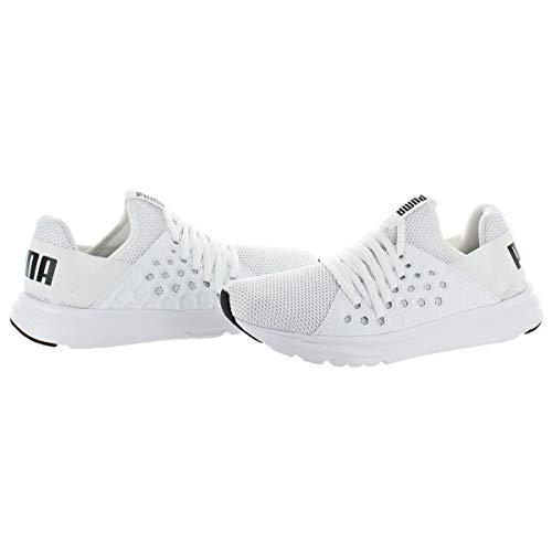 PUMA Enzo NF Men s Mesh Running Trainer Fashion Sneakers Shoes White Size 9 5
