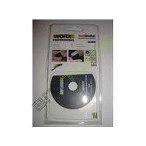 WORX WA5056 3PROFESIONAL SONICRAFTER 3–1/8HSS SEGMENTO HOJA DE SIERRA (PACK DE 3)