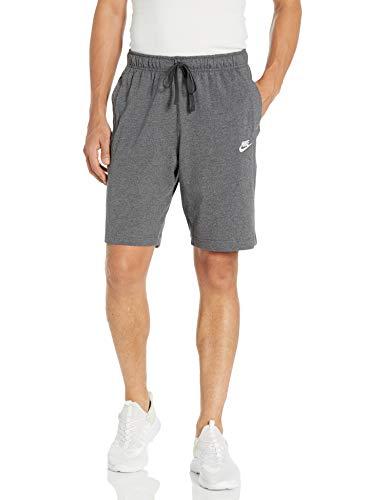 Nike Herren Sport Shorts M NSW Club Short JSY, Charcoal Heathr/(White), M, BV2772