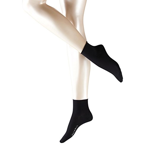 falke cotton touch Falke Damen Kurzsocken Cotton Touch 3er Pack, Größe:35-38;Farbe:Black (3009)