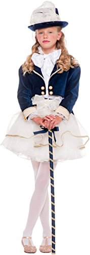 AV53870-3 - Kinderkostüm MILADY PRESTIGE BABY - Alter: 1-6 Jahre - Größe: 3 (Milady Kostüm)