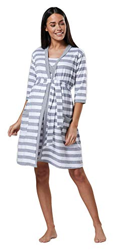 HAPPY MAMA. Para Mujer Camisón/Bata/Pijama premamá