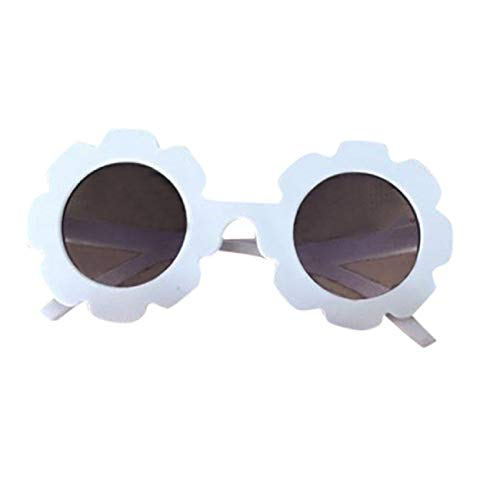 Barlingrock Sonnenbrillen Sonnenbrillen UV400-Schutz Baby Kinder Mädchen Jungen Cartoon Lacework Shades Anti-UV-Brillen Goggle Sonnenbrillen (Ophthalmische Linsen)