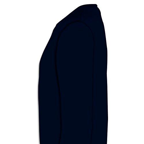 Fußball - Weltmeister 2014 Der vierte Stern - Herren Premium Pullover Dunkelblau