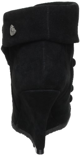 Lollipops N&M Wedge Boots Damen Stiefel 16920 Schwarz (Black)